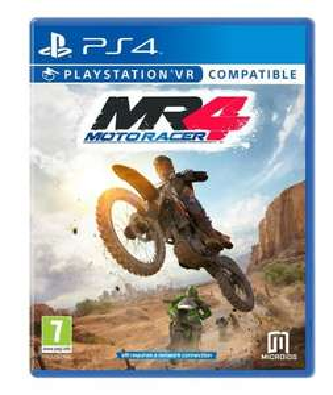 Moto Racer 4 sur PS4 / Xbox One