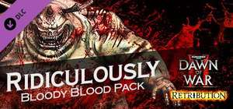 DLC Ridiculously Bloody Blood Pack gratuit pour Warhammer 40,000: Dawn of War II - Retribution gratuit sur PC (Dématérialisé)