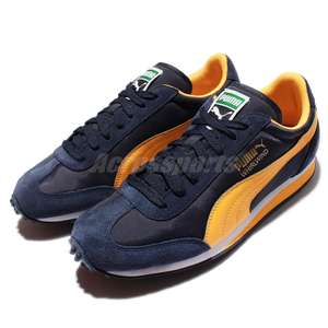 Baskets Hommes Puma Whirlwind Classic Navy Gold