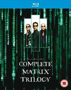 Coffret Blu-ray The Matrix Trilogie (Import anglais)