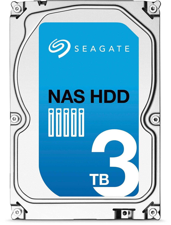 "Disque dur interne 3.5"" Seagate NAS HDD ST3000VN000 - 3 To, SATA III"