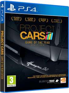 Project Cars - Edition Game of The Year sur PS4 et PC