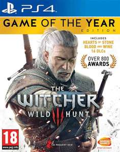 The Witcher 3: Wild Hunt - Game of the Year Edition sur PS4 / Xbox One