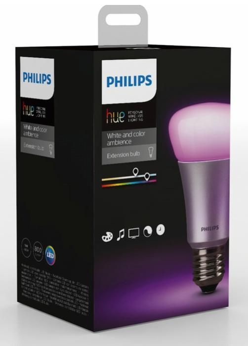 Ampoule connectée E27 Philips Hue Color (V2)