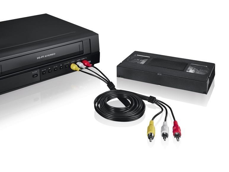Boîtier d'acquisition vidéo USB (avec accessoires)