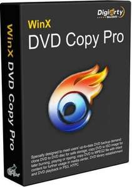 Logiciel WinX DVD Copy Pro gratuit sur PC (dématérialisé)
