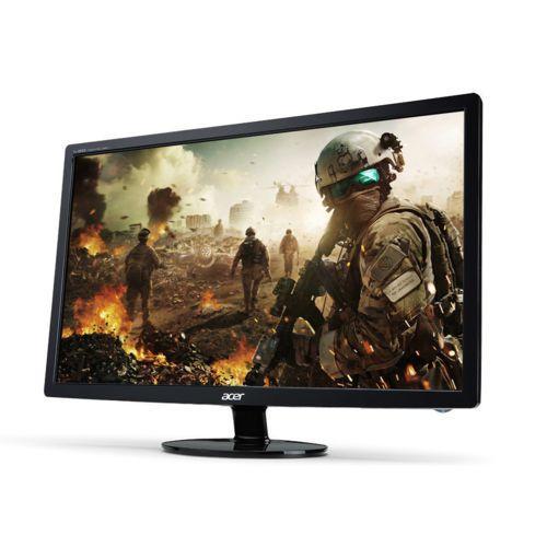 Ecran PC 27'' Full HD Acer S271HLFBID - DVI, HDMI, 1 ms