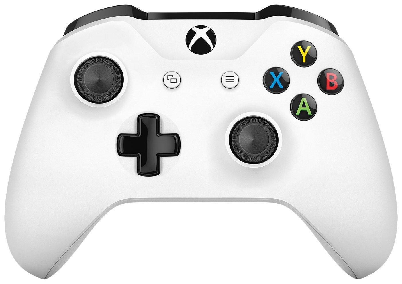 Manette bluetooth Xbox One S - Blanc