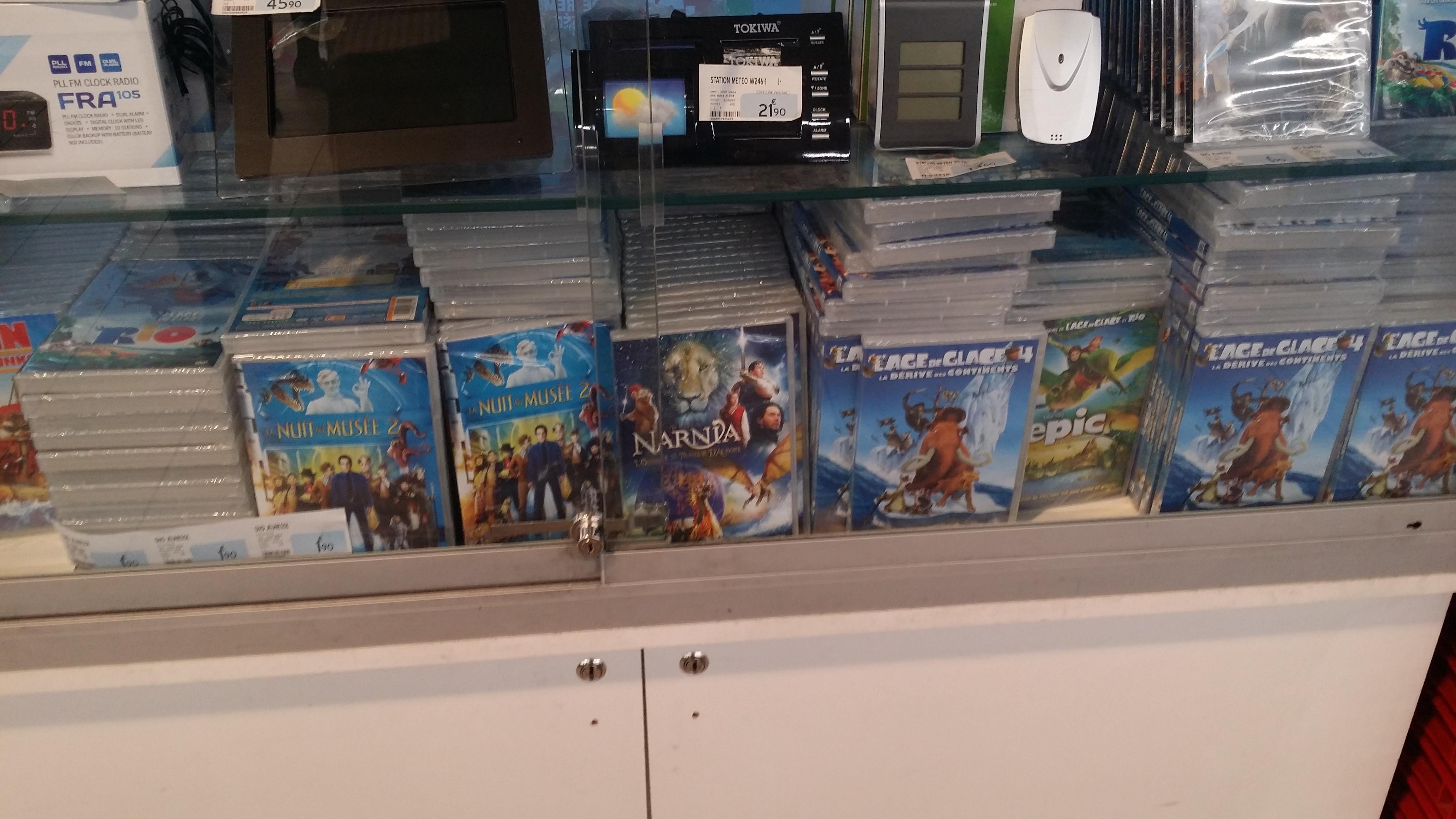 Sélection de DVD Jeunesse (Age des glaces 4, Le monde de Narnia, Rio, etc)
