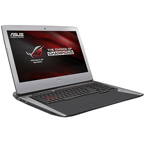 "PC portable 17.3"" Asus G752VS-BA202D - Intel i7-6700HQ, 8 Go RAM, SSD 256 Go + HDD 1 To, GeForce GTX 1070, 120 Hz G-Sync"