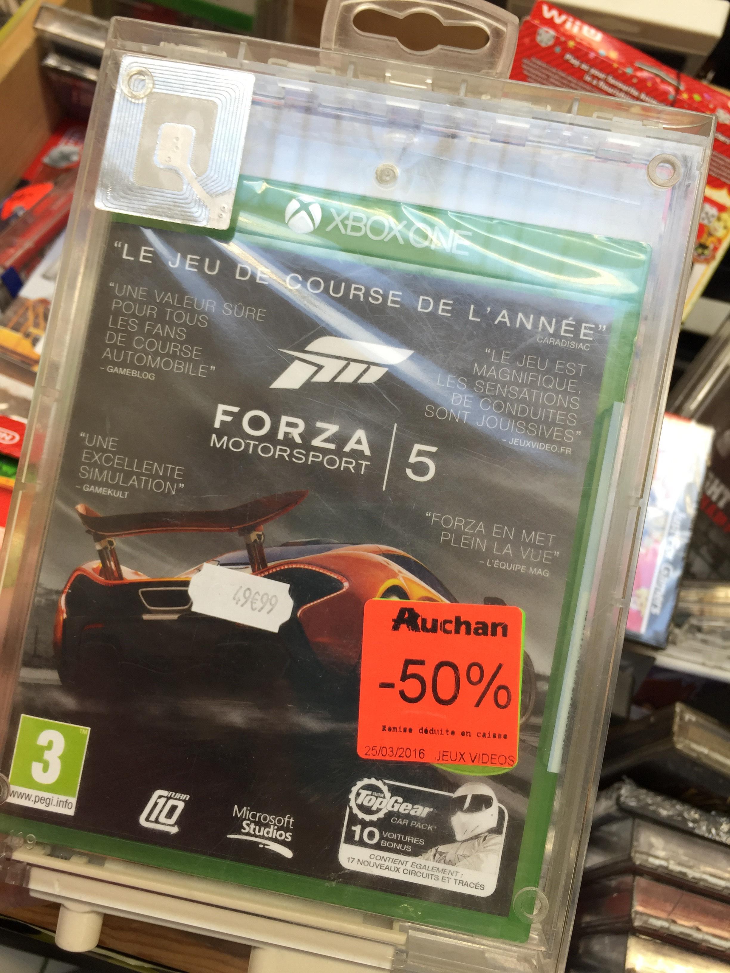 De 30 à 50% de réduction sur une sélection de jeux vidéos et accessoires - Ex: Forza 5 sur Xbox One