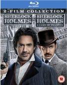 blu ray coffret 2 film Sherlock Holmes + Sherlock Holmes 2 : Jeu d'ombres