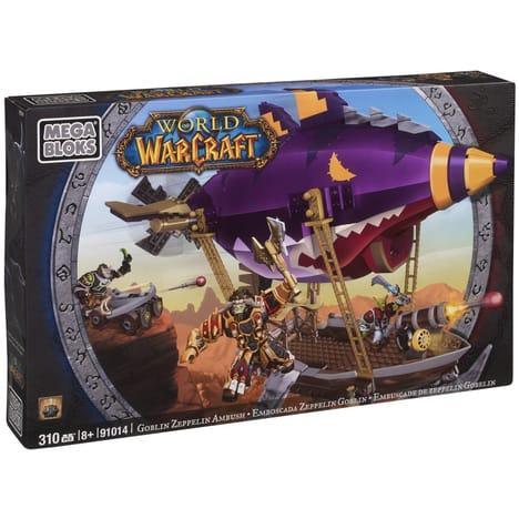 Megablocks Embuscade de Zeppelin Gobelin World of Warcraft