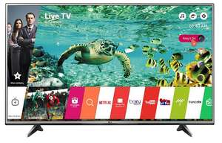 "TV 60"" LG 60UH615V - 4K HDR (via 200€ sur la carte)"