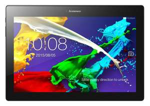 "Tablette 10.1"" Lenovo IdeaTab 2 A10-70 Wi-Fi (Coloris au choix) - Full HD, MT8165, RAM 2Go, 16Go, Android 5.0 (via ODR)"