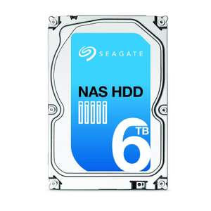 """Disque dur interne 3.5"""" Seagate NAS HDD ST6000VN0021 - 6 To"""