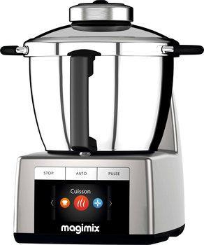 Robot multifonction Magimix Cook Expert (chrome mat) + accessoires jus / presse-agrumes + livres soupes (via ODR)