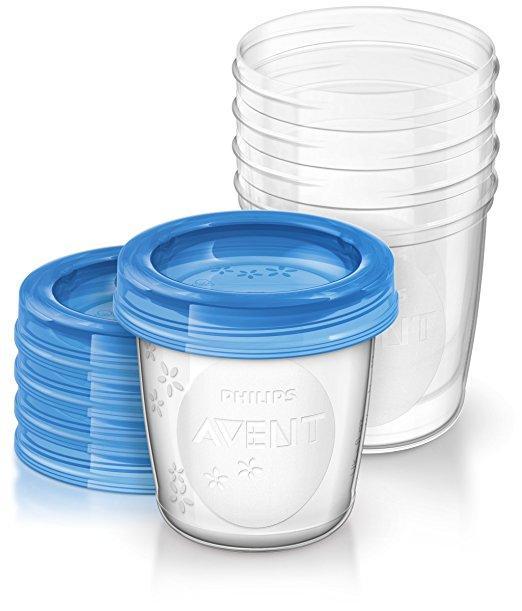 Lot de 5 pots de conservation Philips Avent 240 ml