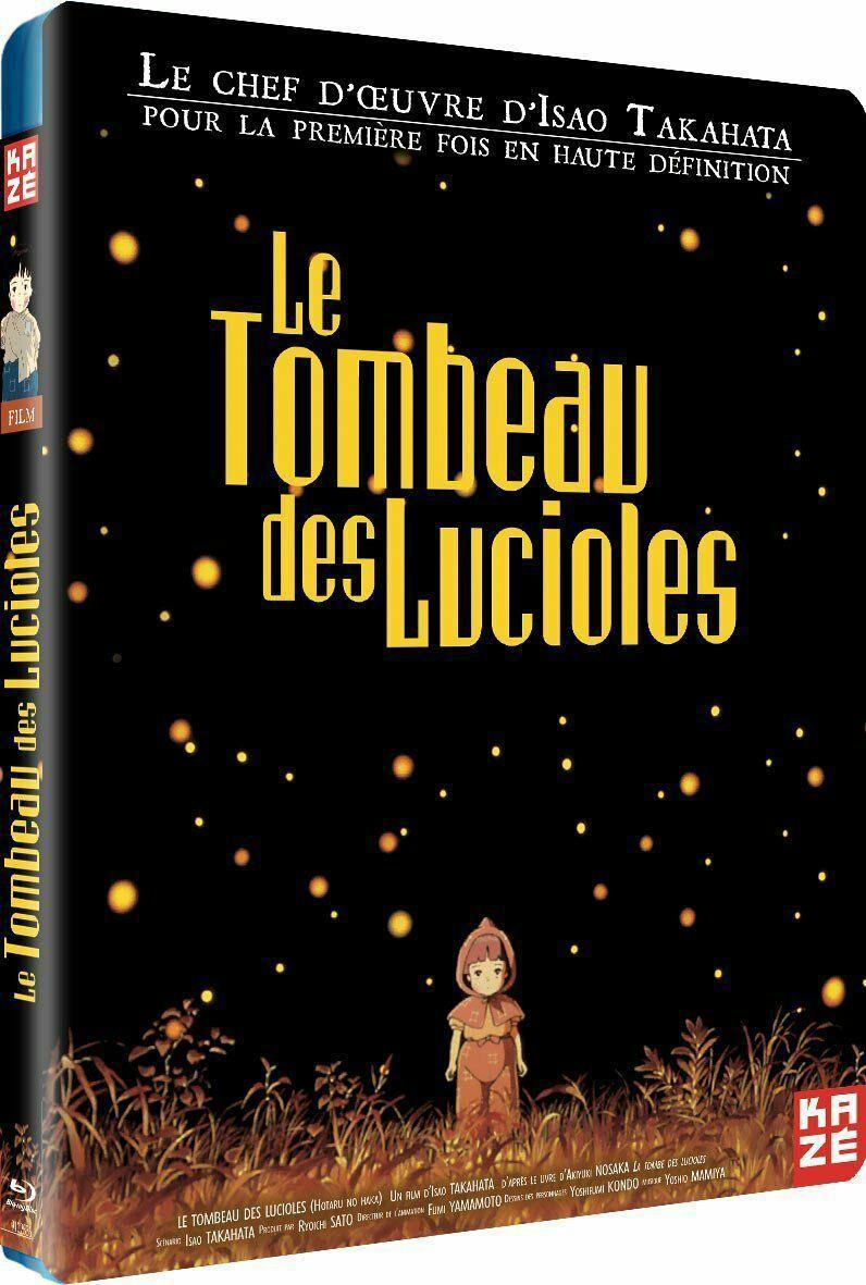 Blu-Ray Le Tombeau des Lucioles