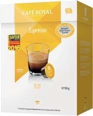 16 Dosettes de Café Royal Compatibles Dolce Gusto