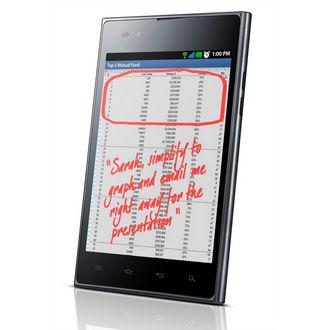 """Smartphone 5"""" LG Optimus VU"""