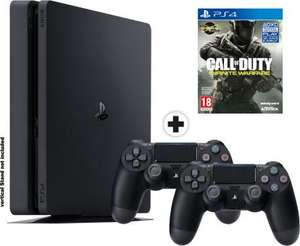 Pack Console PS4 Slim - 1 To + 2ème Manette + Call of Duty: Infinite Warfare
