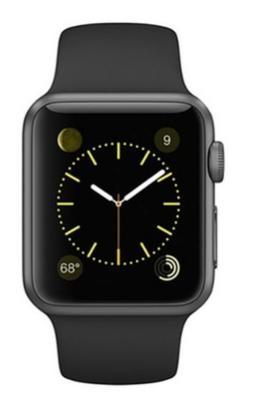 Montre connectée Apple Watch Sport Boitier en aluminium  42mm