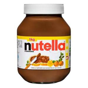Pot de Nutella Ferrero - 1 kg (via 2.43€ sur la carte)