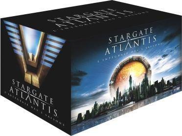 Coffret 25 DVD Stargate Atlantis - Intégrale des saisons 1 à 5 (Édition limitée)