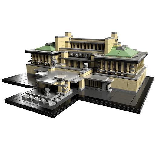 Jeu de construction Lego 21017 - Architecture Impérial Hôtel