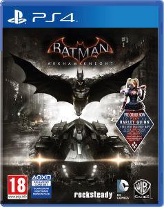 Sélection de jeux Playstation 4 en promotion - Ex : Jeu Batman Arkham Knight sur PS4