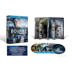 Coffret Blu-ray The Bourne Classified Collection
