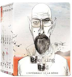 Coffret Blu-Ray Breaking Bad - L'intégrale des 5 saisons en version Steelbooks