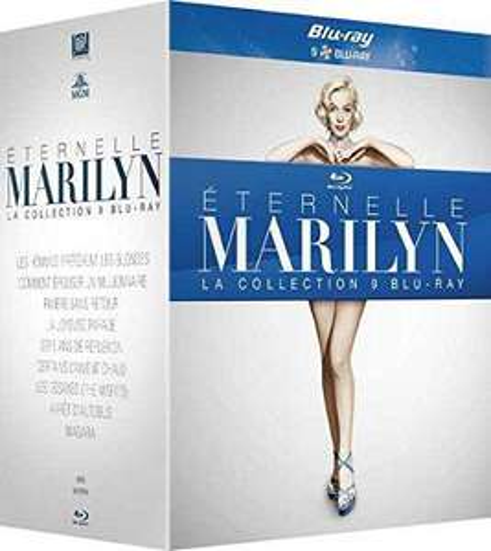 Coffret Eternelle Marilyn - La collection 9 Blu-ray