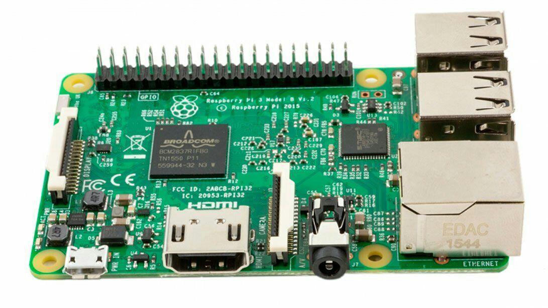 Raspberry Pi 3 Model B - RAM 1 Go