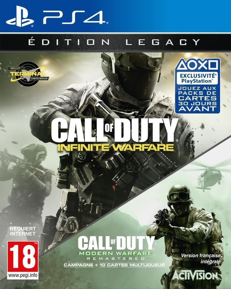 Call of Duty : Infinite Warfare - Edition Legacy (Infinite Warfare + Modern Warfare Remastérisé) sur PS4 et Xbox one