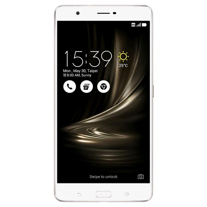 "Smartphone 6.8"" Asus ZenFone 3 Ultra (ZU680KL) - 4 Go de RAM, 64 Go, argent"