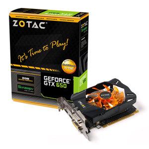 Carte graphique Zotac GeForce GTX 650 Synergy Edition 2GB