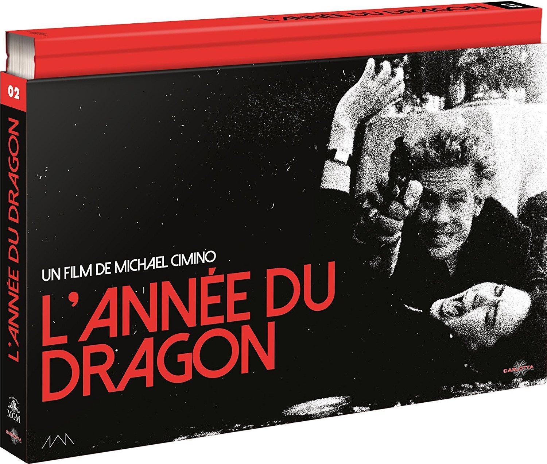 Coffret Blu-ray L'Année du Dragon - Edition Ultra-Collector Carlotta