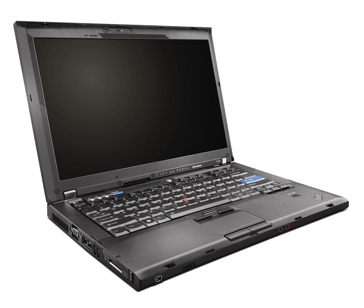 "PC Portable 14.1"" Lenovo Thinkpad T400 - 1280 x 800, Core 2 Duo P8400 2.26GHz, RAM 4Go, 160Go, Windows 7 Edition Familiale (Reconditionné)"