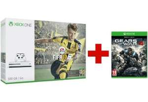 Pack Xbox One S 500 GB + Fifa 17 + Gears of War 4