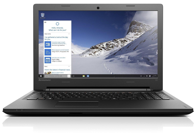 """PC Portable 15.6"""" HD Lenovo Ideapad 100-15Ibd (i3-5005U, RAM 4 Go, SSD 128 Go, GT 920M, Sans OS) QWERTZ"""