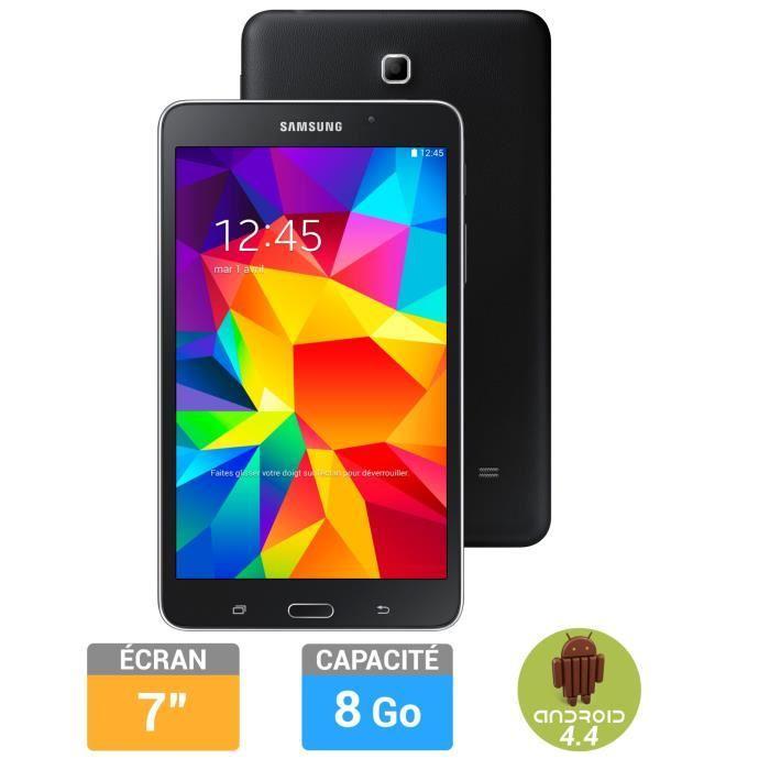 """Tablette 7"""" Samsung Galaxy Tab 4 - Noir, 8 Go"""
