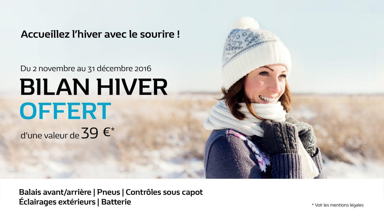 Bilan hiver offert (valeur 39€)