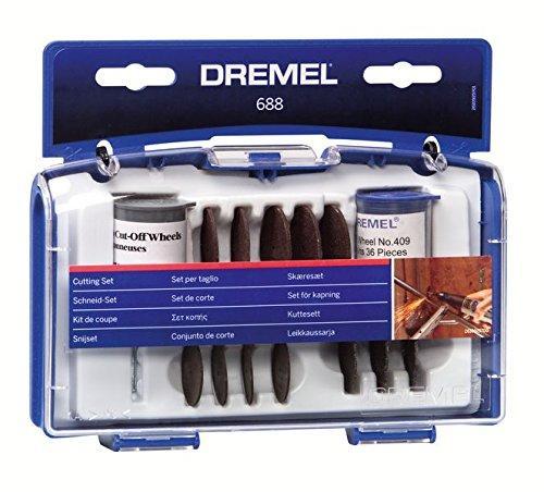 Coffret Dremel 688 - Jeu de 69 pièces découpes multiples