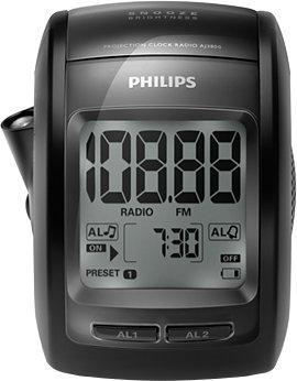 Sélection de produits en promotion - Ex : radio-réveil projecteur Philips AJ3800