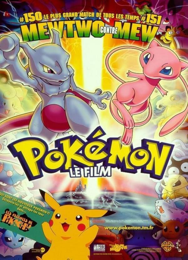 Pokémon, le film : Mewtwo contre Mew visionnable gratuitement