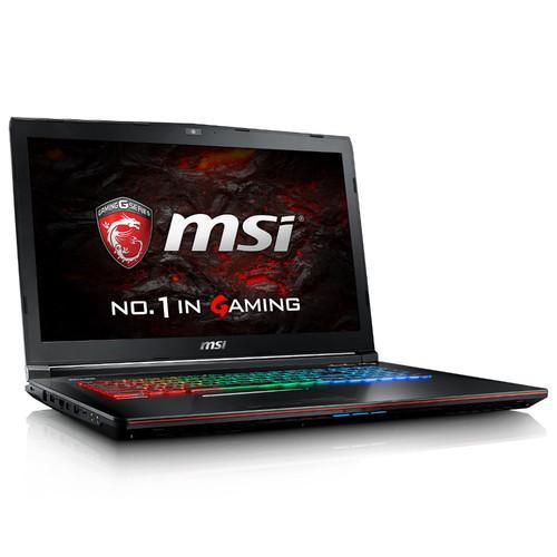"PC Portable 17.3"" MSI GE72VR 6RF-209XFR Apache Pro - i7-6700HQ, RAM 8Go, SSD 128 Go + 1To, GTX 1060 3Go (Sans OS) + 115€ de credits Paragon"