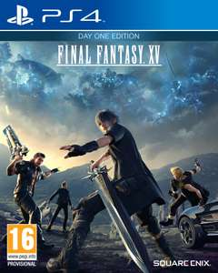 [Précommande] Final Fantasy XV - Edition Day One sur PS4 ou Xbox One