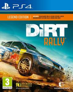 Dirt Rally - Legend Edition sur PS4